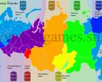 Россия, часовые пояса